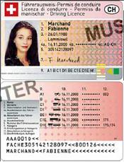 Führerausweis im Kreditkartenformat
